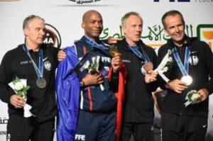 Michel Guy champion du monde à l'épée