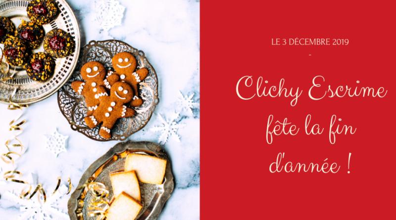 Fête du club le 3 décembre 2019 à Clichy Escrime