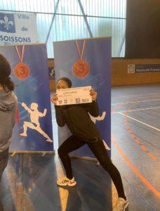 Malinka finit 7ème au circuit de Soissons 2019